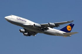 Lufthansa avión