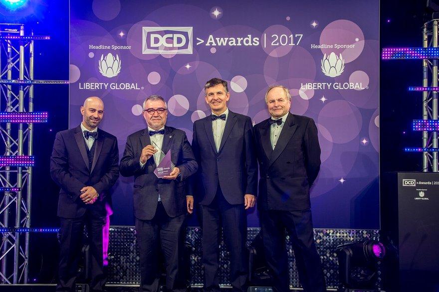 El patrocinador global de la edición 2017 de los premios ha sido Liberty Global